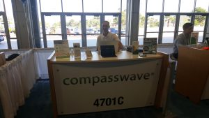 compass wave las vegas issa convention booth