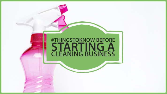 start a cleaning business
