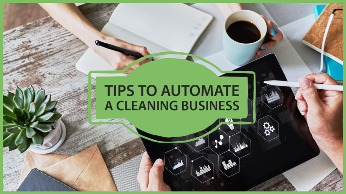 tips to automate a cleaning business
